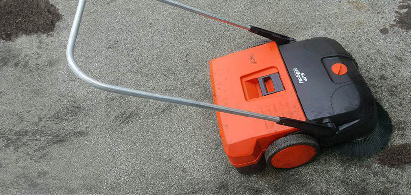 Kehrmaschine Haaga475 - Keyvisual