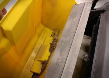 Kehrmaschine Kärcher S750 - Auffangbehälter