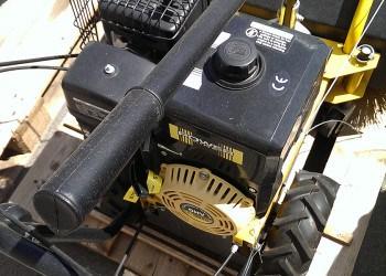 Motor einer Kehrmaschine