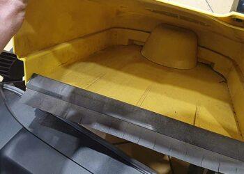 Kehrmaschine Kärcher S4 - Sammelbehälter