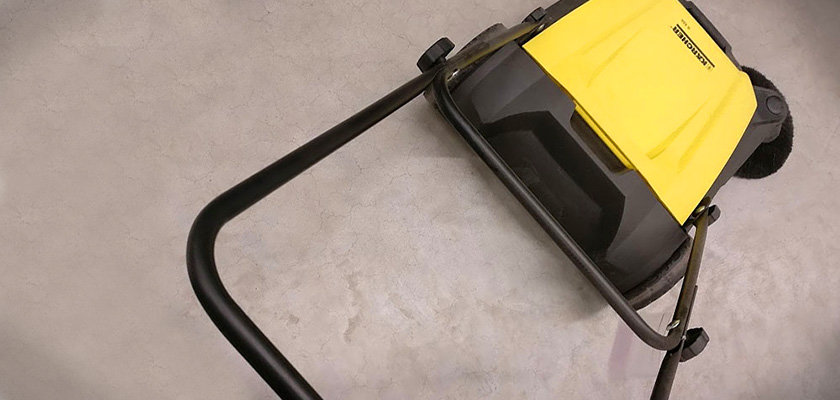 Kehrmaschine Kärcher S550 - Keyvisual