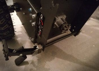 Fuxtec Kehrmaschine KM196 - Entkoppelung