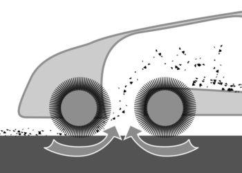 Doppelwalzen Kehrmaschine